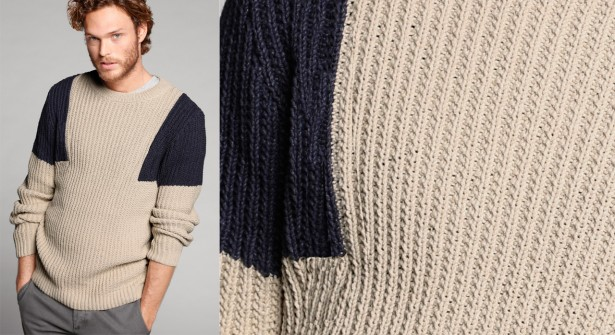 Homme tricot