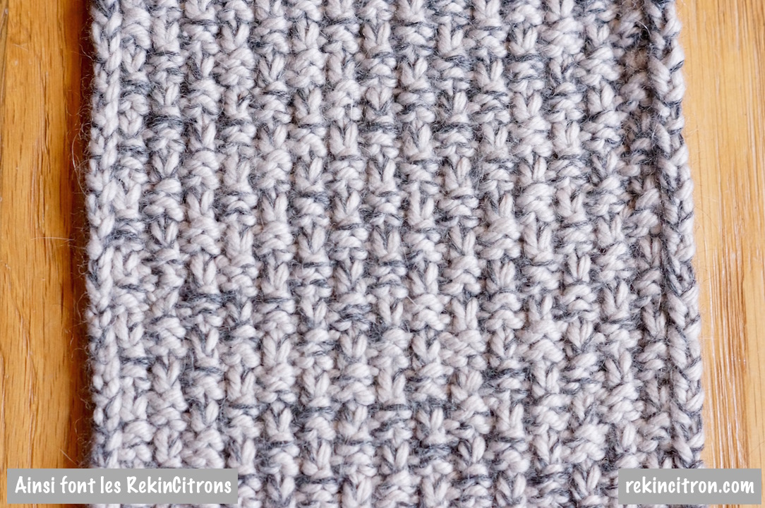 Point tricot homme